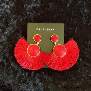Bauble Bar Dark Red Earrings